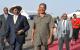 Presidents Yoweri Museveni of Uganda and Isaias Afewerki at Asmara