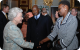 President Museveni and First Lady Janet Museveni at the Commonwealth Day