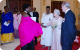 First Family members greet Queen Elizabeth II and Prince Phillip