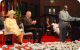 President Museveni delivers his speech at the opening of CHOGM Kampala