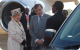 Queen Elizabeth II interacts with her driver-to-be while in Uganda