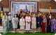 First Lady Janet Museveni posing with spouses of Government heads