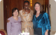 First Lady Janet Museveni chatting with spouses of Government Heads