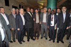 President Museveni meeting investors from Zanjan provice in Iran