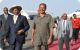 Presidents Yoweri Museveni of Uganda and Isaias Afewerki at Asmara