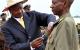 Daamu Medalist Happy Kagonyera receiving his medal