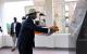 President Museveni laying the wreath at Rwemiyenje Memorial in Rugand