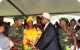 PMP talking to Tanzanian Generals who participated in 1979 war of Libration duri