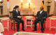 Japanese Prince with President Museveni