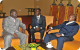 President Museveni with CAR's President Bozize - African Union Meeting Kampala J