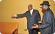 President Museveni with Nigerian President Goodluck Jonathan - African Union Mee