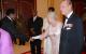 Chief Justice Benjamin Odoki greets Queen Elizabeth II