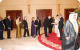Ambassadors and Diplomats accredited to Uganda meet the Queen