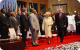 The Queen arrives to open CHOGM Kampala at Serena Conference Centre