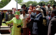 Queen Elizabeth, President Museveni, Prince Phillip and First Lady
