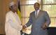 President Museveni with Nigeria's Ali Ya'Adua at Munyonyo