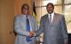 President Bingu Wa Mutharika and President Museveni at CHOGM Kampala 2007
