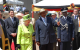 Queen Elizabeth, President Museveni and Inspector General of Police