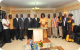 President Museveni with various stakeholders in a group photo