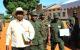 President Yoweri Museveni, PM Amama Mbabazi, NALI Commandant Katirima and Acting