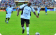 President Museveni advancing with the ball