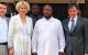President Yoweri Museveni receiving  Serbians Investors