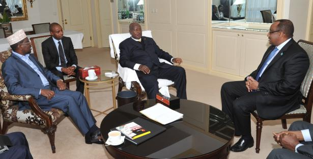 President Museveni meets a delegation from PET in Istanbul, Turkey