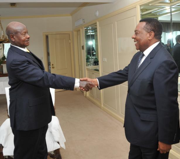 President Museveni meets the UN special representative on Somalia