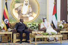 President Museveni in the United Arab Emirates 2014