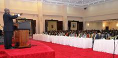President hosts Busoga leaders