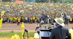 Speech by the President Elect at the Swearing-In Ceremony - State House Uganda